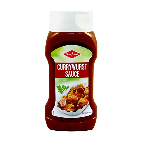 6 x 320ml Burkhardt Currywurst-Sauce