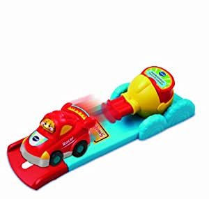 VTech Toot Toot Drivers Press and Go Launcher Tut Tut Bolides Version Anglaise (Import UK)