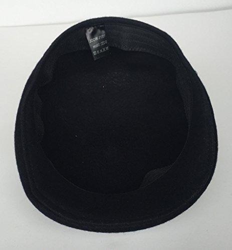 Bigood Homme Béret Protection Oreille Bonnet Casquette Chaud Uni Pour Hiver Outdoor Vert