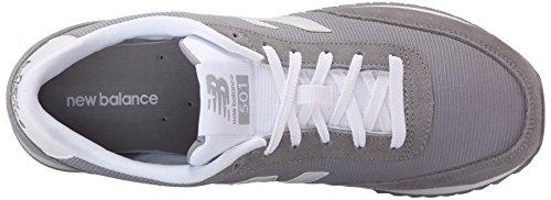New Balance Men's MZ501V1 90's Normcore Running Shoe, Grey/White, 13 D US Grey/White