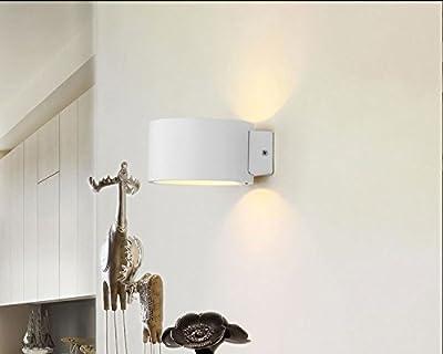 Solfart lighting GW-9201R warm light aluminum shade indoor bedside living room entrance door small square led modern spot light wall lamp wall light fixture - cheap UK light shop.