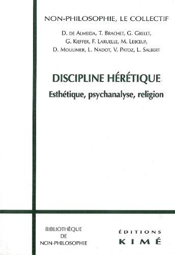 Discipline hérétique par F. Laruelle