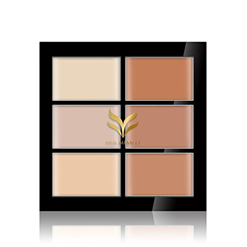 Generic Professional 6 Colors Face Cream Contour Kit Concealer Palette Bronzer Highlighter Makeup - 02