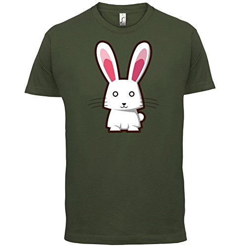 Cute Rabbit - Herren T-Shirt - 13 Farben Olivgrün