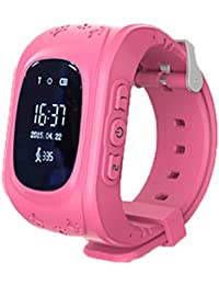 maistore Smartwatch Q50GPS Rastreador NIÑOS reloj inteligente anti-lost SOS pulsera Sleep Rastreador OLED reloj de pulsera para niños niñas