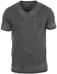 SOLID Theon Herren T-Shirt V-Ausschnitt Shirt