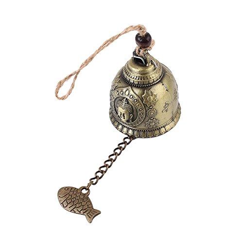 Kicode Colgando windbell carillón de Viento Bendición para la Buena Suerte la...