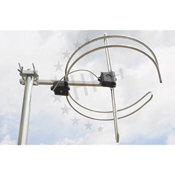 3H-DAB-FM - DAB-Antenne - kombiniert mit UKW Ringdipol Rundantenne FM-Antenne 1 Element mit F-Anschluss
