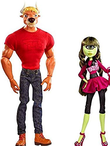 Mattel - Monster High - Manny Taur and Iris Clops - San Diego Comic Con 2014 - SDCC - Limited Edition 5000 -