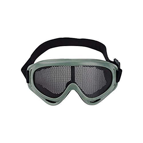 Tamumu Gafas tácticas Malla Metal Gafas Protectoras