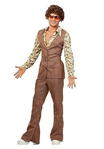 Men's 70's Vest Fancy dress costume Small