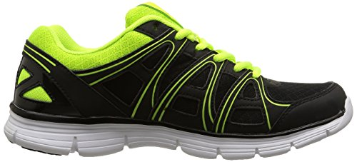 Kappa Ulaker, Multisport Outdoor Homme Noir (Black/Acid Green)