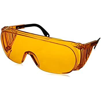 Uvex S0360 X Ultra-spec 2000 Safety Eyewear, Orange, cadre, Sct-orange UV extrême anti-buée lentille