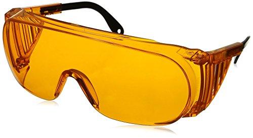 Uvex Ultra-spec 2000Schutzbrillen, Gestell in orange, hoher UV-Schutz, extrem beschlagungsfreies Glas, S0360X