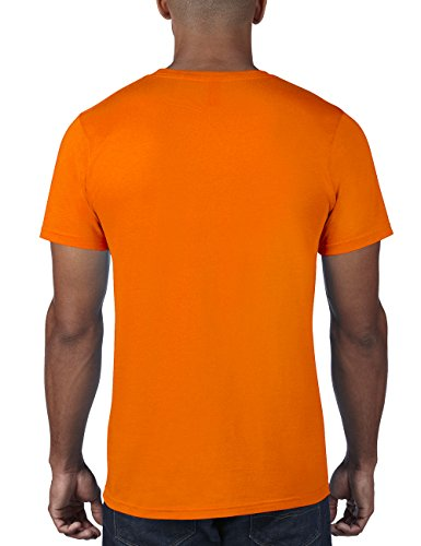 anvil Herren Fashion Basic Tee / 980 Orange (NEO-Neon Orange 345)