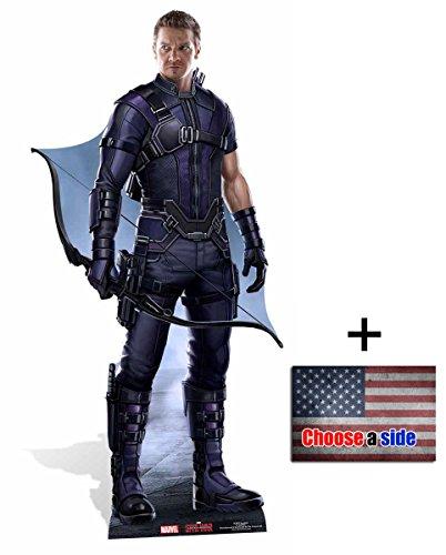 Hawkeye First Avenger: Civil War Lebensgrosse Pappaufsteller - mit 25cm x 20cm foto