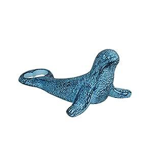 rustique Bleu foncé blanchi en fonte Joint Décapsuleur 15,2cm