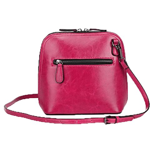 WU Zhi Lady In Pelle Borsa A Tracolla Diagonale Red