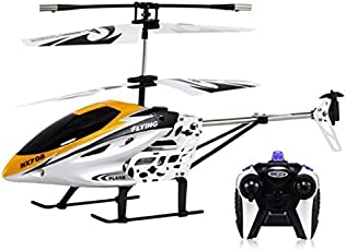 Pacific Toys Flying Remote Control Helicopter (Yellow)