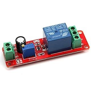 VORCOOL DC 12V NE555 Zeitverzögerung Modul Delay Timer Monostable Schalter Relaismodul