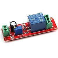 ultnice DC 12V NE555Suspensión contador relé contador monostable Interruptor Módulo Ajustable de 0a 10Segundos