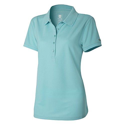Wilson Damen Golf Poloshirt, Authentic Polo,Türkis (Tiffany Blue), M - Tiffany Golf