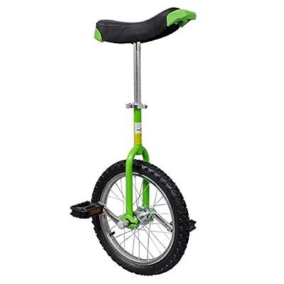"""vidaXL Einrad höhenverstellbar Unicycle Fahrrad mit Schnellspanner 16"""", 20"""""""