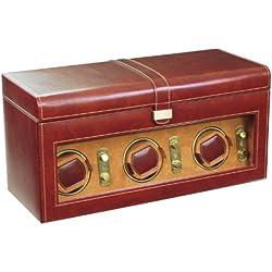 Dulwich Designs Heritage Brown Triple Watch Rotator