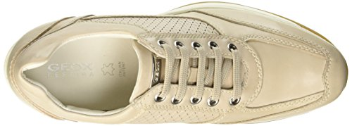 Geox Donna Regina G, Low-Top Chaussures femme Beige