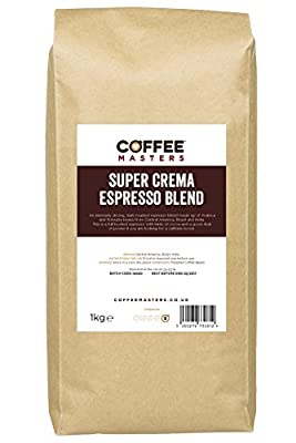 Coffee Masters Super Crema Espresso Coffee Beans 1kg