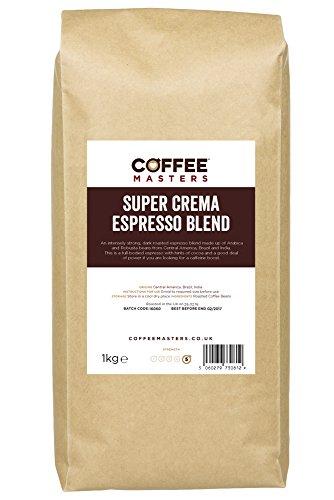 Coffee Masters Super Crema Espresso Coffee Beans 1kg