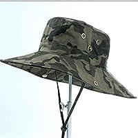 Gorro De Visera Para Hombres Gorra De Verano Para Pesca Al Aire Libre Bloqueador Solar Sombrero Para El Sol Sombrero De Pescador Para Papá Gorra De Camuflaje Verano