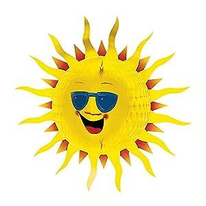 WIDMANN Sancto Tropical decoración Soles 3D con Nido de Abeja