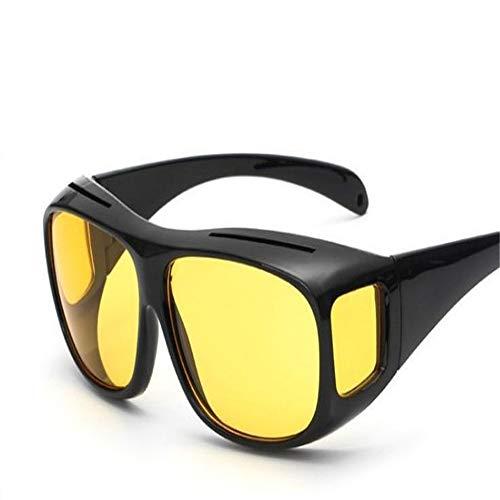 kamier Radfahren Sport Herren Sonnenbrille Sand Control Multifunktions-Nachtsichtbrille schwarz Nachtsicht