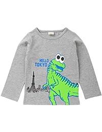 erthome, Herbst Kinder Kind Jungen T-Shirt Tops Brief Dinosaurier Print Shirts
