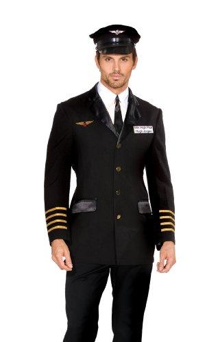 Dreamgirl 5236Mile High Pilot Hugh Jorgan Kostüm (2x große)