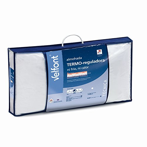 Almohada Termo-reguladora doble funda hipoalergenica tratamiento aloevera Velfont 90