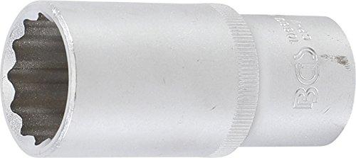 'Kraft Homme 10663 Douille à 12 pans profonde | 12,5 mm (1/2) | SW 26 mm