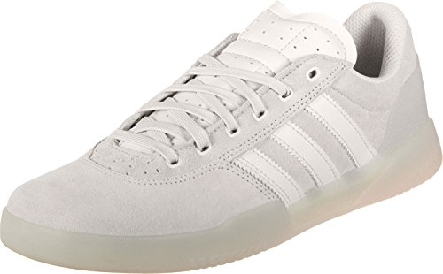 low priced d435c 28603 adidas Mens City Cup Skateboarding Shoes, White Crywht, ...