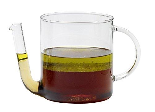 Trendglas Jena Fetttrenner/Fettabschöpfer/Fetttrennkanne, 0,8 Liter