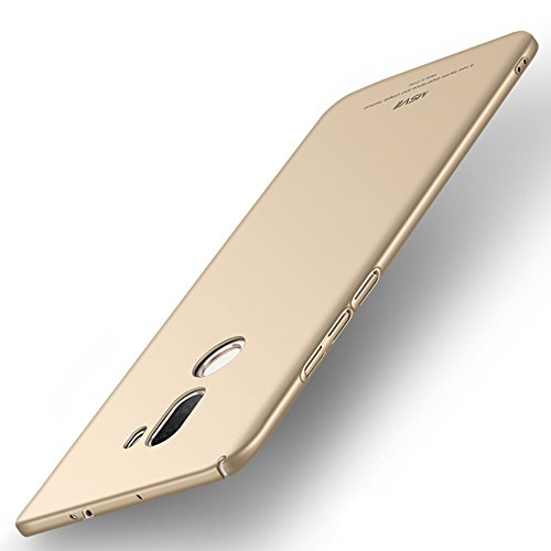 Coque Xiaomi Mi 5s Plus, MSVII® Très Mince Coque Etui Housse Case et Protecteur écran Pour Xiaomi Mi 5s Plus (Pas compatible avec Xiaomi Mi 5s) - Bleu JY00286 Or