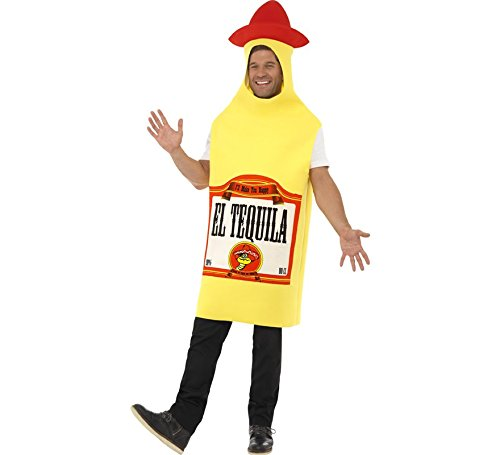 Smiffy's Disfraz de Botella de Tequila para Adultos