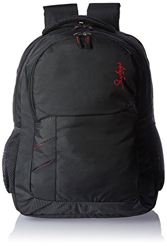 Skybags Fame 30 Ltrs Black Casual Backpack (BPFAMBLK)