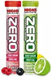 High5 Zero Electrolyte Sports Drink Tube of 20 tabs - Buy 1 Get One Free (1 x Citrus + 1 Berry Free)