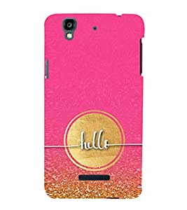 EPICCASE Hello Mobile Back Case Cover For YU Yureka (Designer Case)