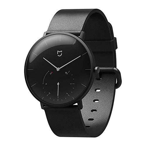 Uhrenarmband Passt für Quartz Wrist Watch für Xiaomi, Leder Classic Ersatz Uhrenarmband Armband für Xiaomi Mijia Quarzuhr, Passend für Frau Mann, Schwarz, Marine Marine Computer-monitore