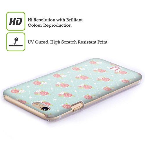 Head Case Designs Coque arrière pour Apple iPhone 5c Motif palette de couleurs naturelles Papier Peint Rose