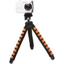 XSories BITRI/BLA-ORA -Big deluxe tripod Trépied pour Appareil photo/portable Noir/Orange