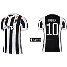 Camiseta hombre Juventus de Turín 2017–2018Home Coppa/Scudetto–dybala 10, Dybala 21