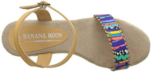 Banana Moon Ascoli 3, Sandales compensées femme Multicolore (Sho91)